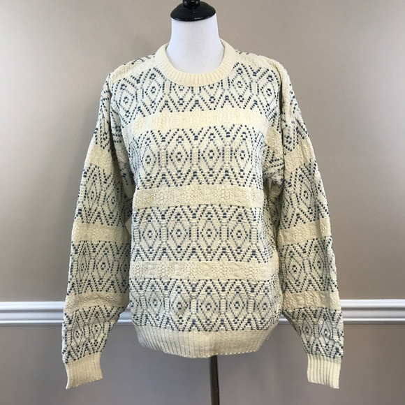 Jantzen Other - Vintage Early 90's Jantzen Fisherman's Sweater M